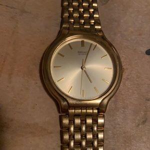 Vintage Seiko Gold Watch